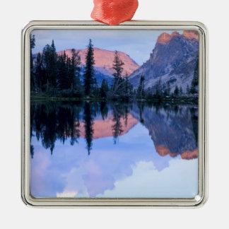 Sawtooth Wilderness, Idaho. USA. Cumulus Metal Ornament