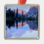 Sawtooth Wilderness, Idaho. USA. Cumulus Square Metal Christmas Ornament