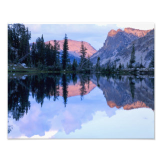 Sawtooth Wilderness, Idaho. USA. Cumulus Photo Print