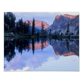 Sawtooth Wilderness Idaho USA Cumulus Print