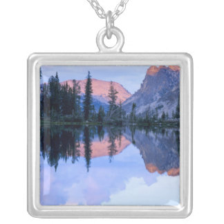 Sawtooth Wilderness, Idaho. USA. Cumulus Silver Plated Necklace