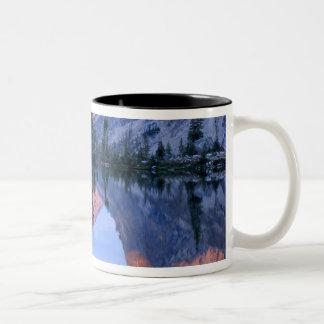 Sawtooth Wilderness, Idaho. USA. Cumulus Two-Tone Coffee Mug