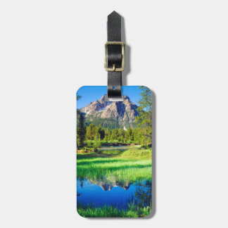 Sawtooth Wilderness Luggage Tag