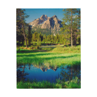 Sawtooth Wilderness Wood Wall Decor