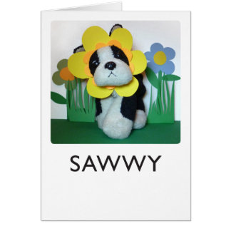 Sawwy Card
