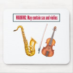 sax and violins mouse pad