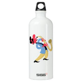 Sax Beat Chill Bliss Aluminum Water Bottle