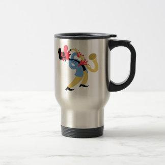 Sax Beat Chill Bliss Travel Mug