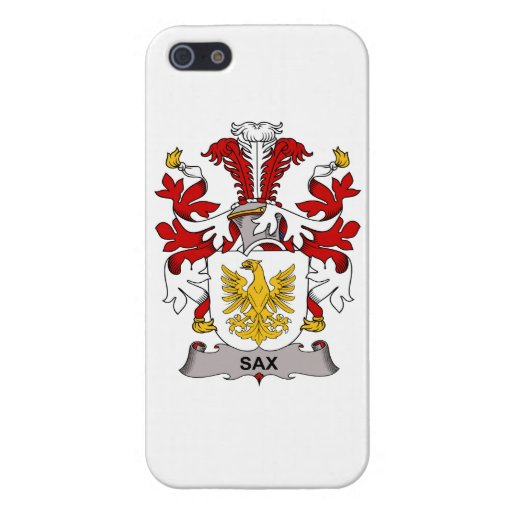 Sax Family Crest Case For iPhone 5