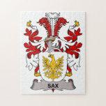 Sax Family Crest Puzzle