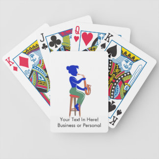 sax female sitting player abstract blue.png bicycle playing cards