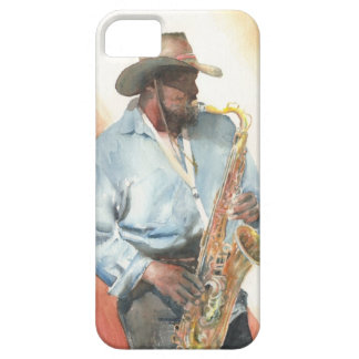 Sax In The Park iPhone SE/5/5s Case