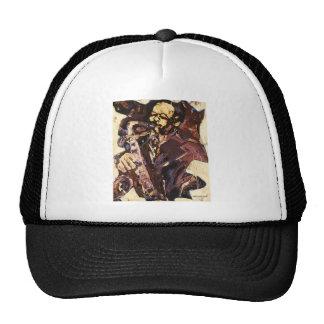 Sax Man Trucker Hat