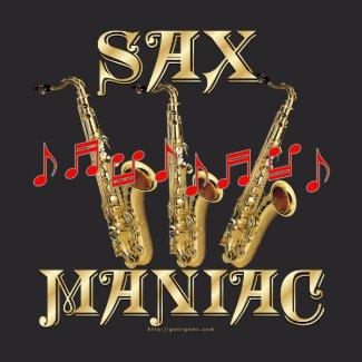 Sax Maniac shirt