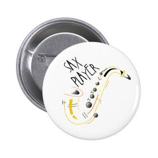 Sax Player Button