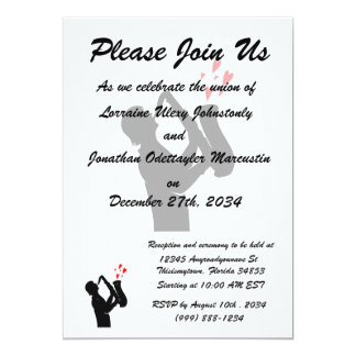 sax player side outline hearts bk.png 5x7 paper invitation card