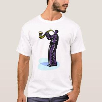 Sax Player Stylized Purple Version T-Shirt
