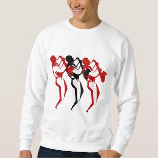 Sax player sweatshirt