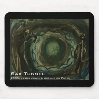 Sax Tunnel Mouse Pad