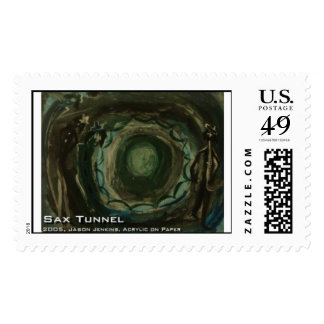 sax tunnel  postage stamps