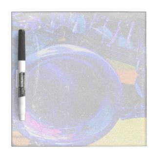 sax yellow blue grunge scratch music design Dry-Erase board