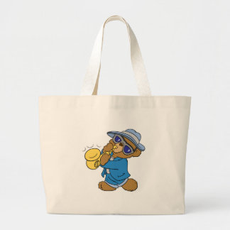 Saxaphone Jazz Blues Bear Bag