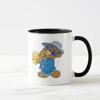 Saxaphone Jazz Blues Bear Mug