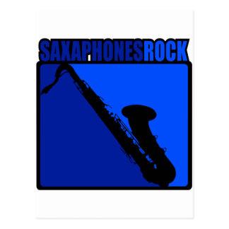 Saxaphone Rock #2 Postcard