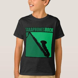 Saxaphone Rock #3 T-Shirt