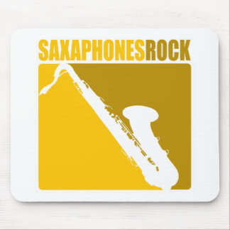 Saxaphone Rock #5 Mouse Pad