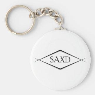 SAXD Keychain white