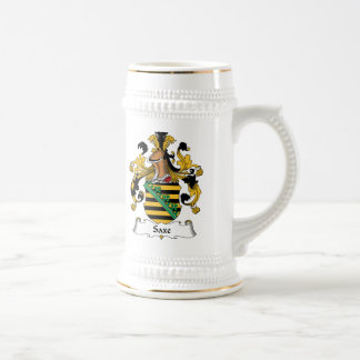 Saxe Family Crest Beer Stein