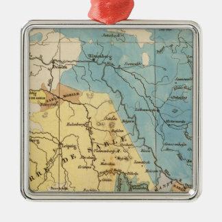 Saxe mineralogique metal ornament