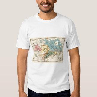 Saxe mineralogique t shirt