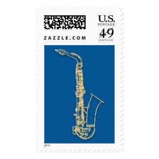 Saxh Postage Stamp