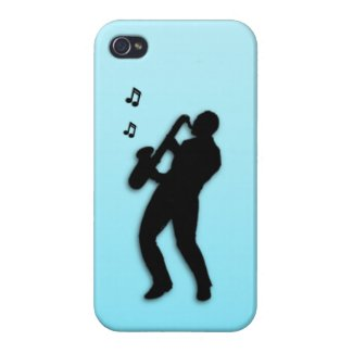Saxo Player custom 4s iPhone 4/4S Case
