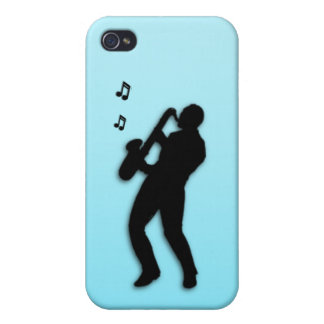 Saxo Player iPhone 4 Case