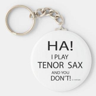Saxo tenor de la ha llaveros