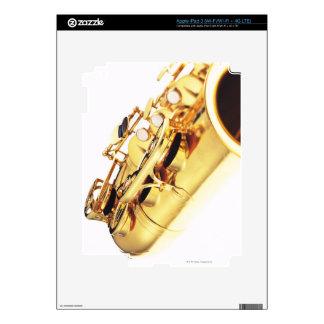 Saxofón 2 pegatinas skins para iPad 3