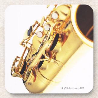 Saxofón 2 posavasos
