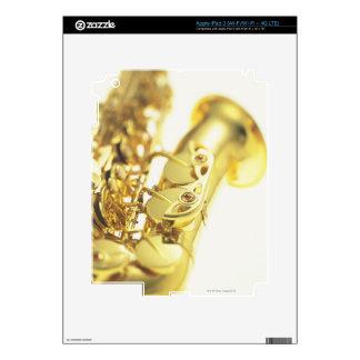 Saxofón 3 pegatinas skins para iPad 3