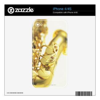 Saxofón 3 skins para iPhone 4S