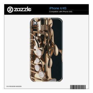Saxofón 5 skins para iPhone 4