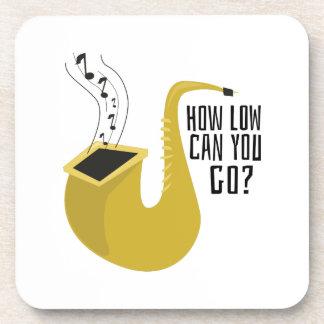 Saxofón, alto, cuerno, instrumento, música, posavasos de bebida