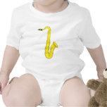 Saxofón clásico traje de bebé