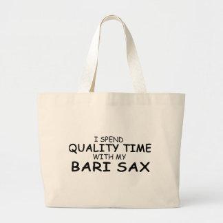 Saxofón de Bari del tiempo de la calidad Bolsas De Mano