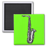 Saxofón del alto imán de frigorífico