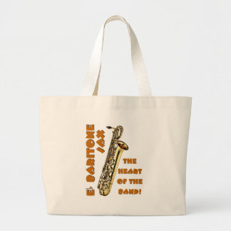 Saxofón del barítono bolsas