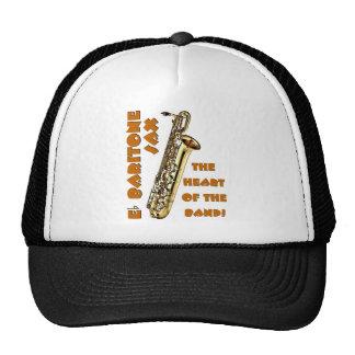 Saxofón del barítono gorras