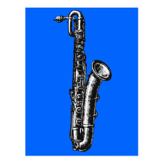 Saxofón del barítono postal